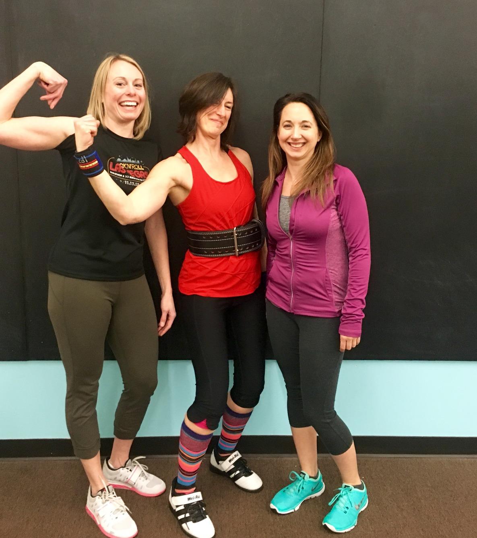 These women lift. A lot.